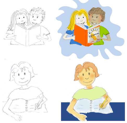 custom cartoon illustrations