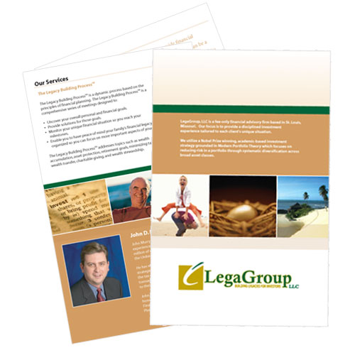 brochure design templates. Brochure Design for St Louis