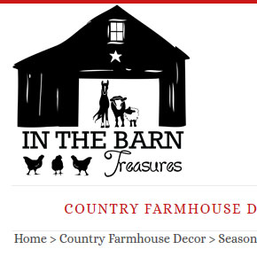 in the barn treasure country decor