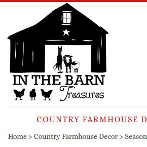 in the barn treasure country decor