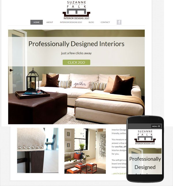 wordpress website interior designer