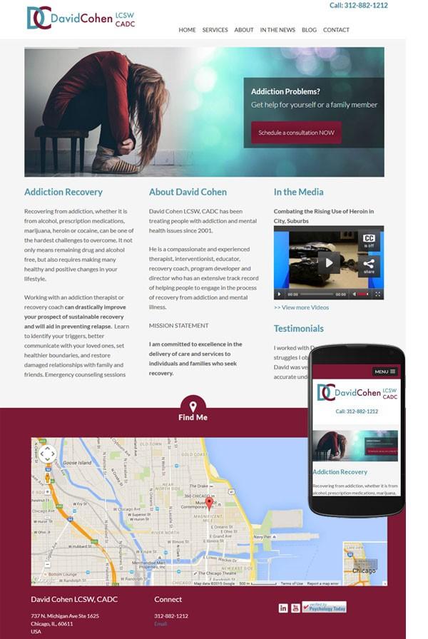 responsive wordpress website chicago