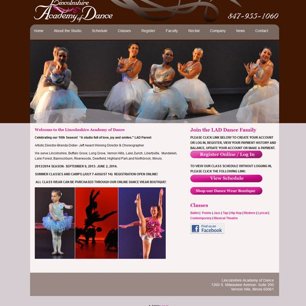 wordpress website chicago