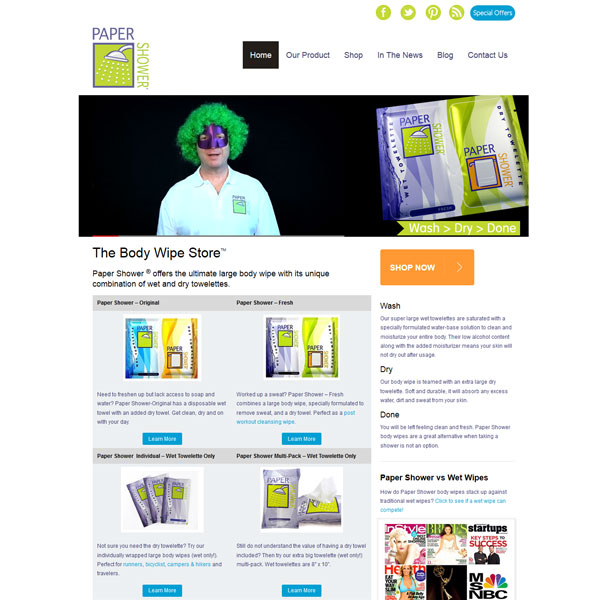 wordpress-website-chicago-paper-shower