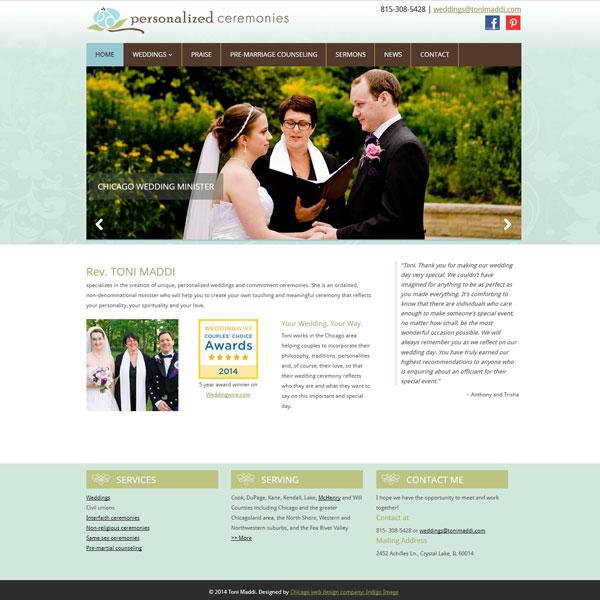 wordpress website toni maddi