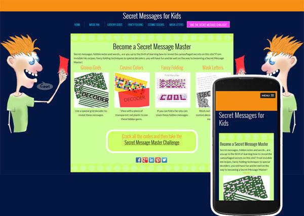 secret messages for kids website