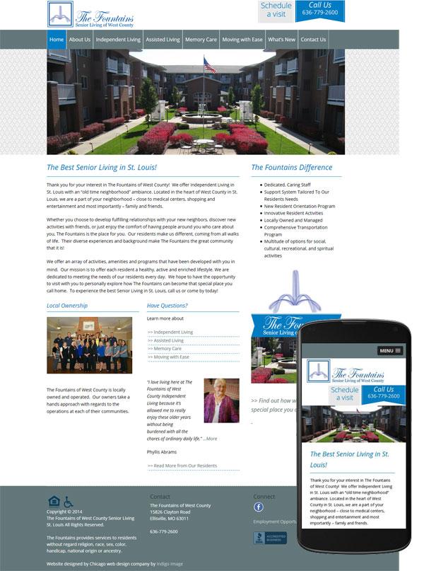 senior-living-st-louis-website-mobile