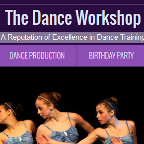 dance-workshop-wordpress-website