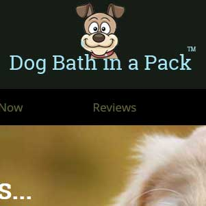 dog bath in a pack website