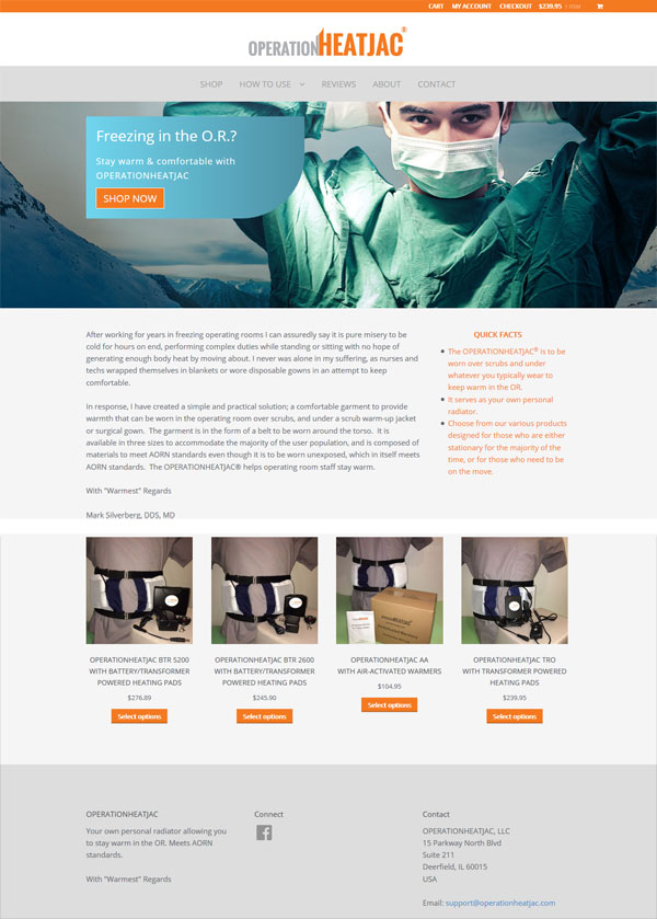ecommerce web site