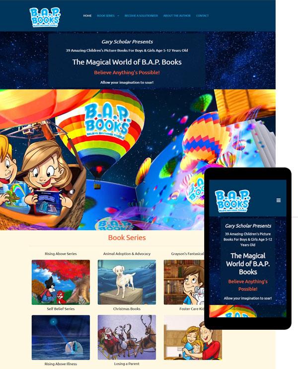 website childrens author