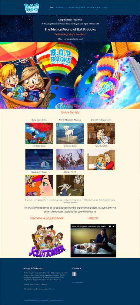 children's autor website