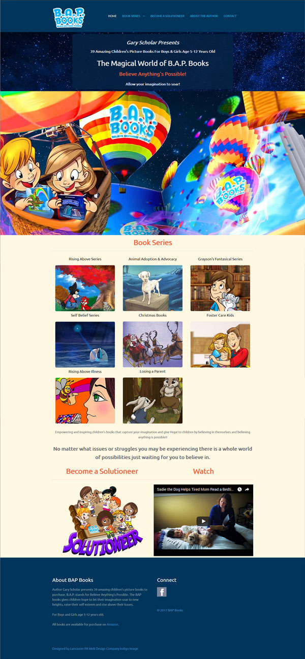 children's autor website