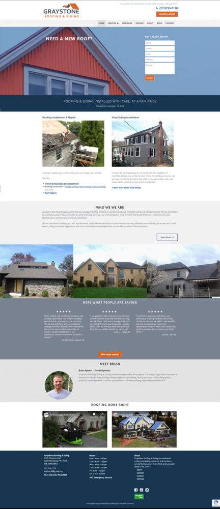 graystone website