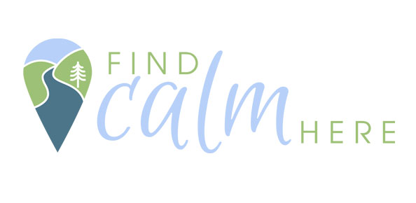 find calm here logo