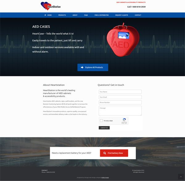 website for heartstation