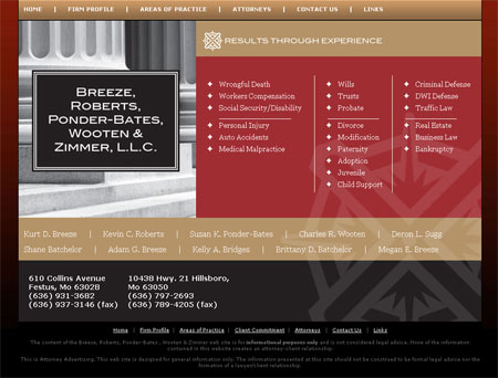 breeze law web site
