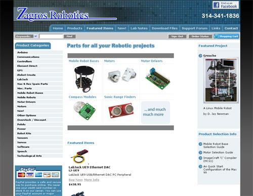 New Zagros web site
