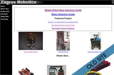 old zagros website