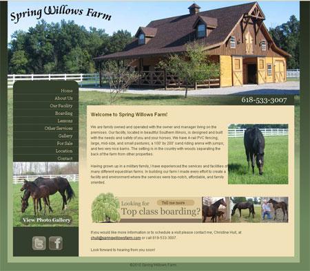 Horse Farm Design