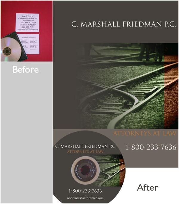 DVD folder design