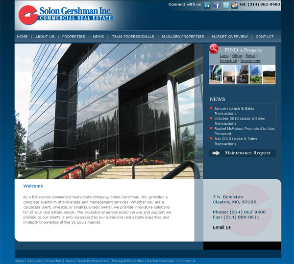 New web site for Solon Gershman