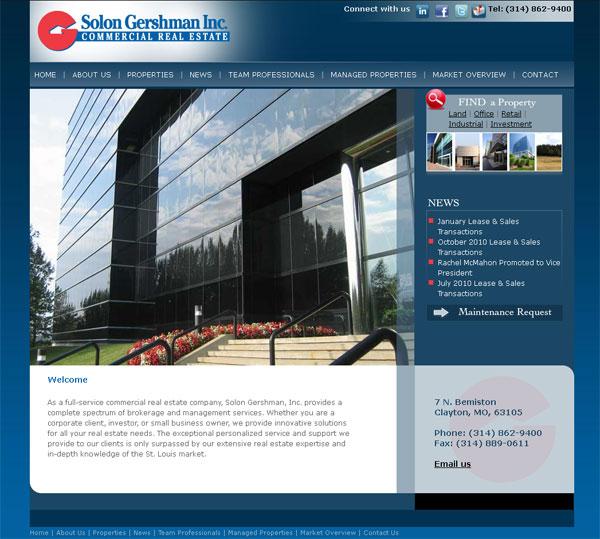 New web site for Solon Gershman