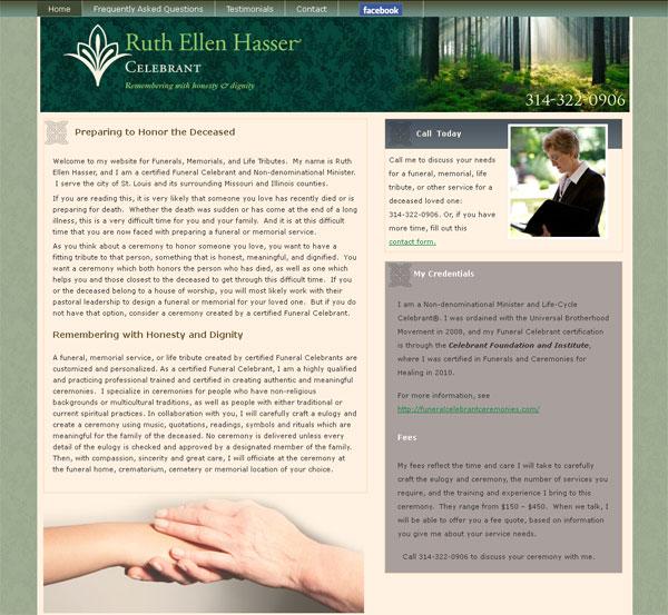 life celebrant web site
