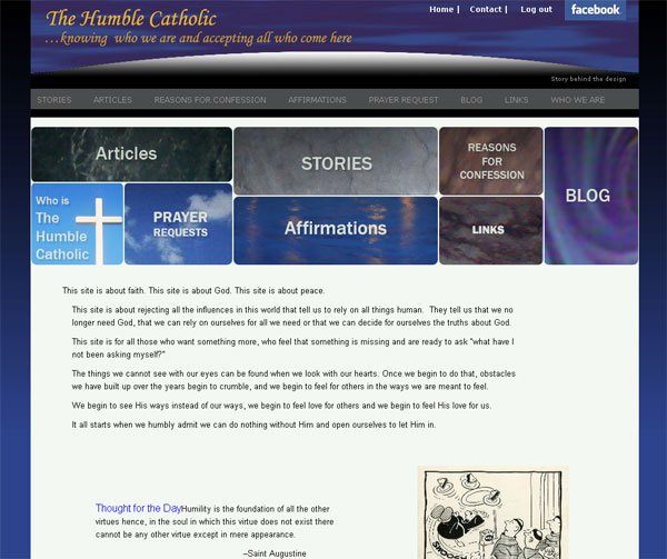 Humble Catholic website