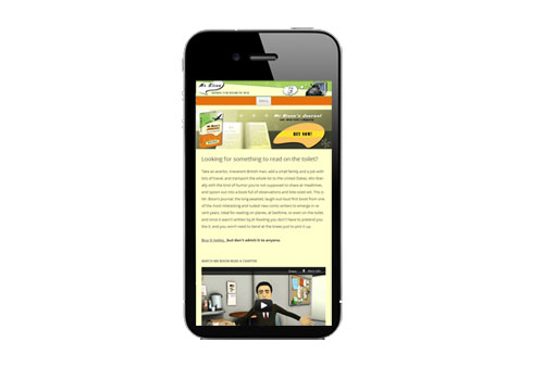 responsive design on iphone