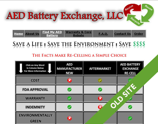 aed battery website chicago
