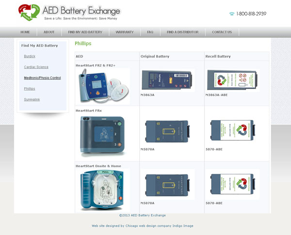 aed website chicago