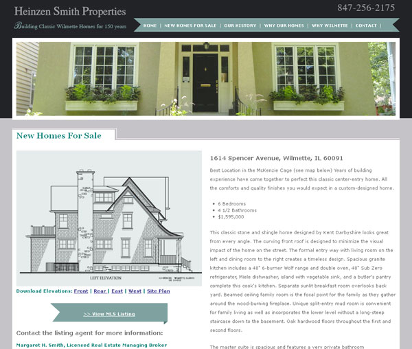 chicago home builder website