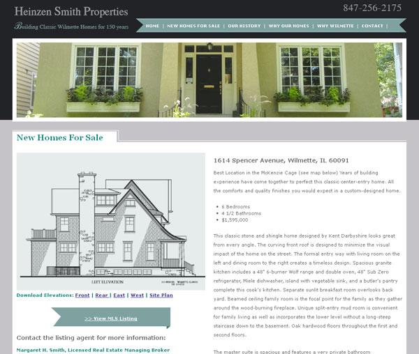 chicago home builder website