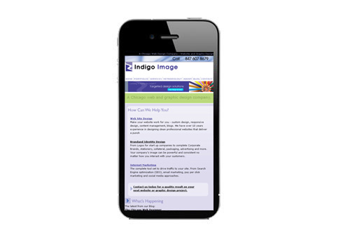 responsive design on an uphone