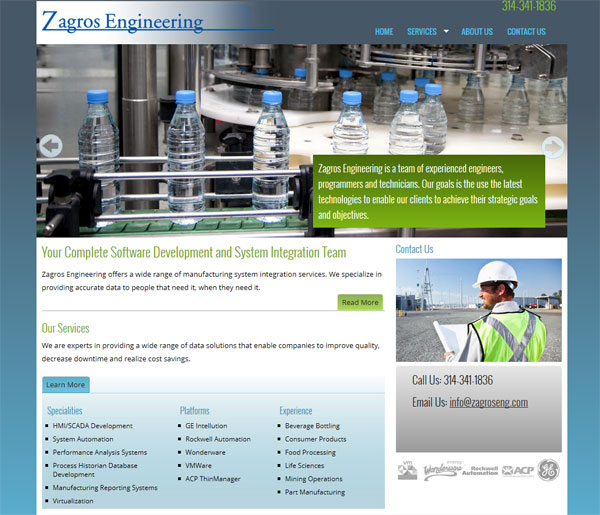 zagros engineering website