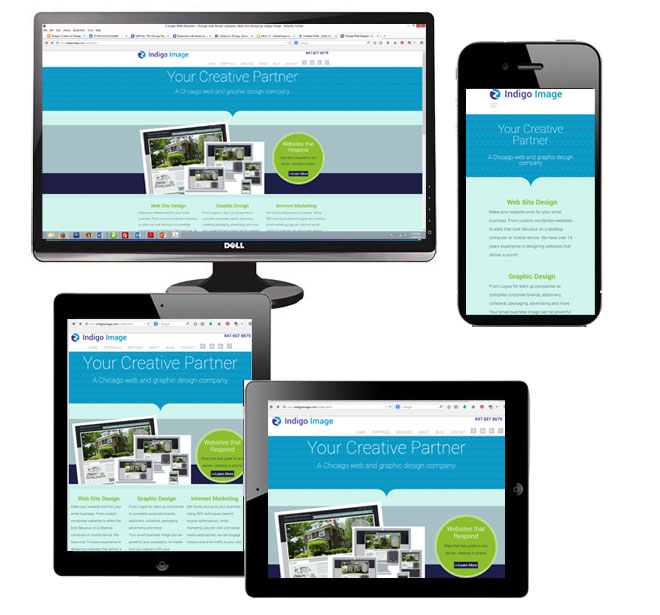 responsive design chicago web designer