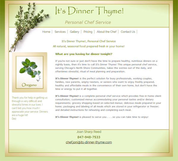 its-dinner-thyme-mobile-freindly-website