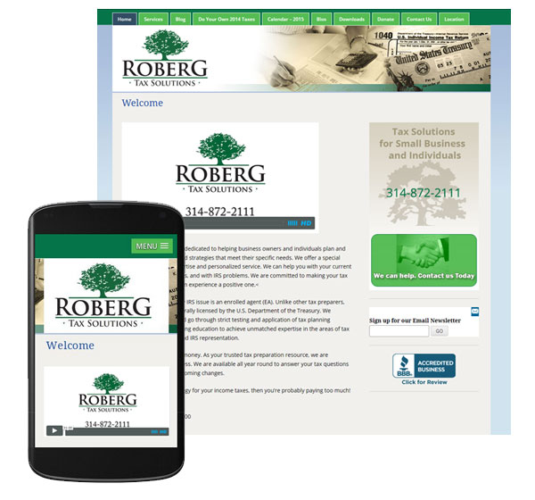 roberg-tax-solutions-mobile-website